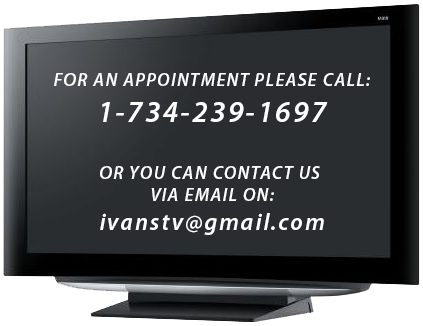 Tv Repair Canton Mi In Home Service Only